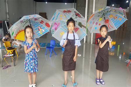 """【图书大厦】在空中绽放的美丽——""""手绘雨伞""""画出你的梦想!"""
