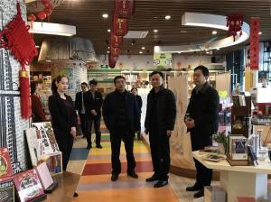 韩丽璞总经理到邯郸市店调研指导升级改造工作